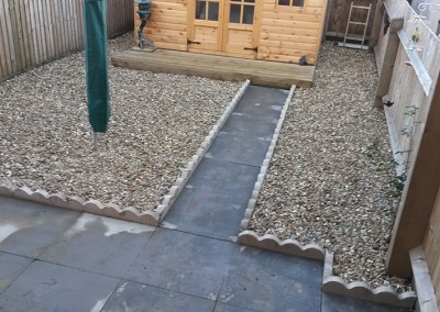 New Build Garden Makeover