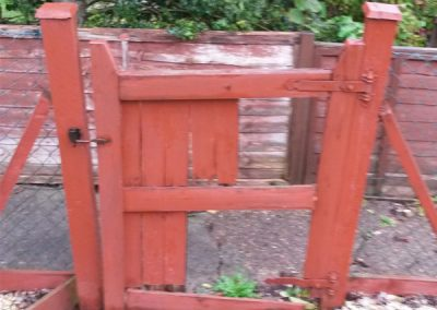Small Gate Replacement